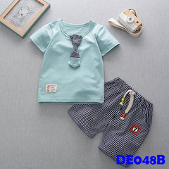(DE048G) Boy set - Green