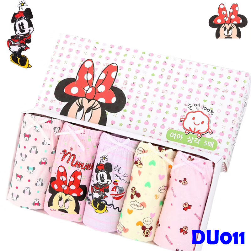 (DU011) Girl Panties - Minnie Mouse