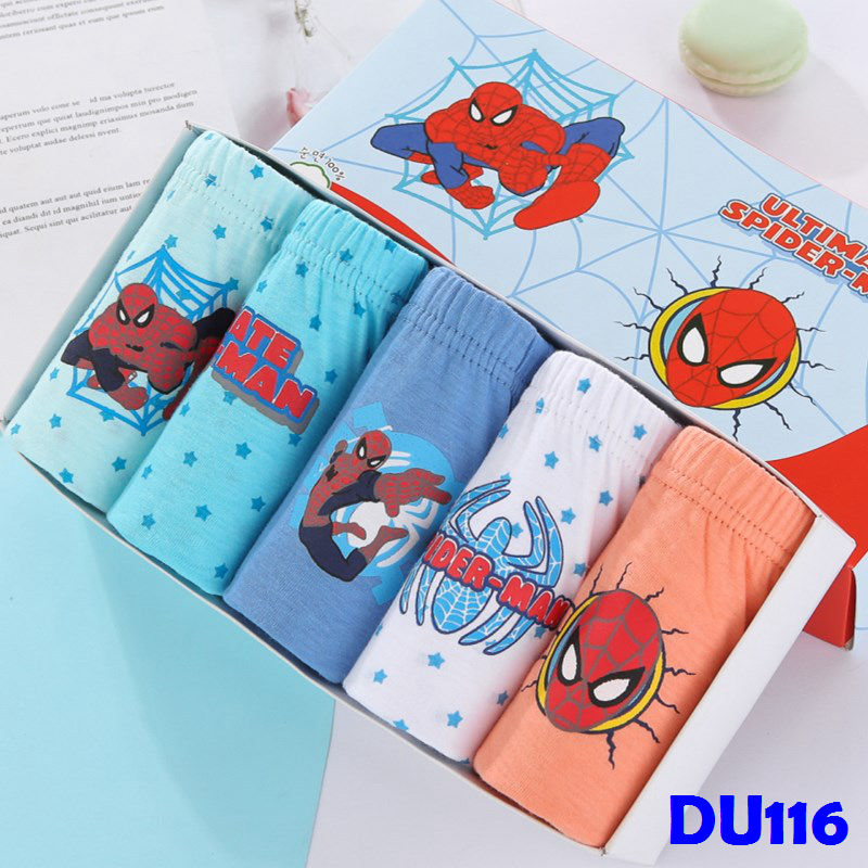 (DU116) Boy Panties - Spiderman