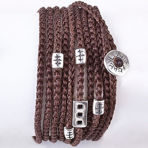 Brown My Babylonia wrap