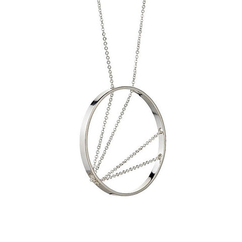 Arc Circle Necklace