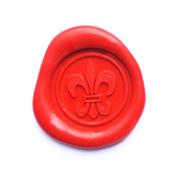 UNIQOOO French Fleur stamp Silver Wax Sealing Stamp