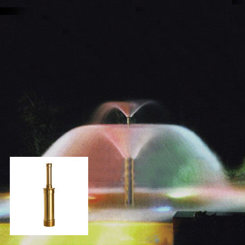 Double Lava Fountain Nozzle, Brass