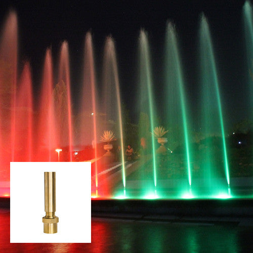 Ionic Column Fountain Nozzle, Brass