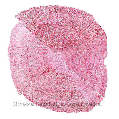 Vintage Pink Tree Growth Ring Wood Art Decorative Canvas Wall Poster Picture