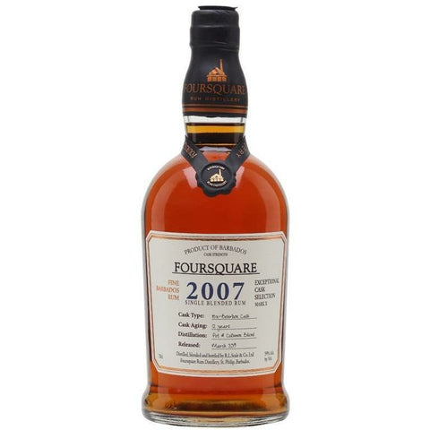 Foursquare  Single Blended Rum 2007