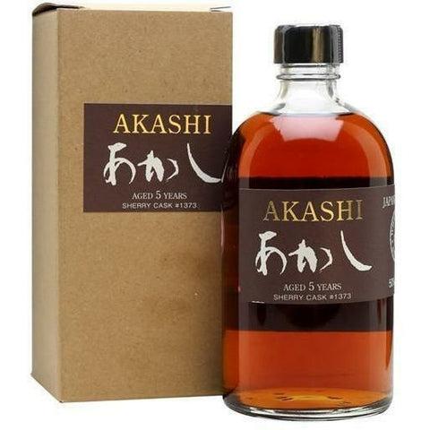 White Oak Akashi Sherry Cask Single Malt