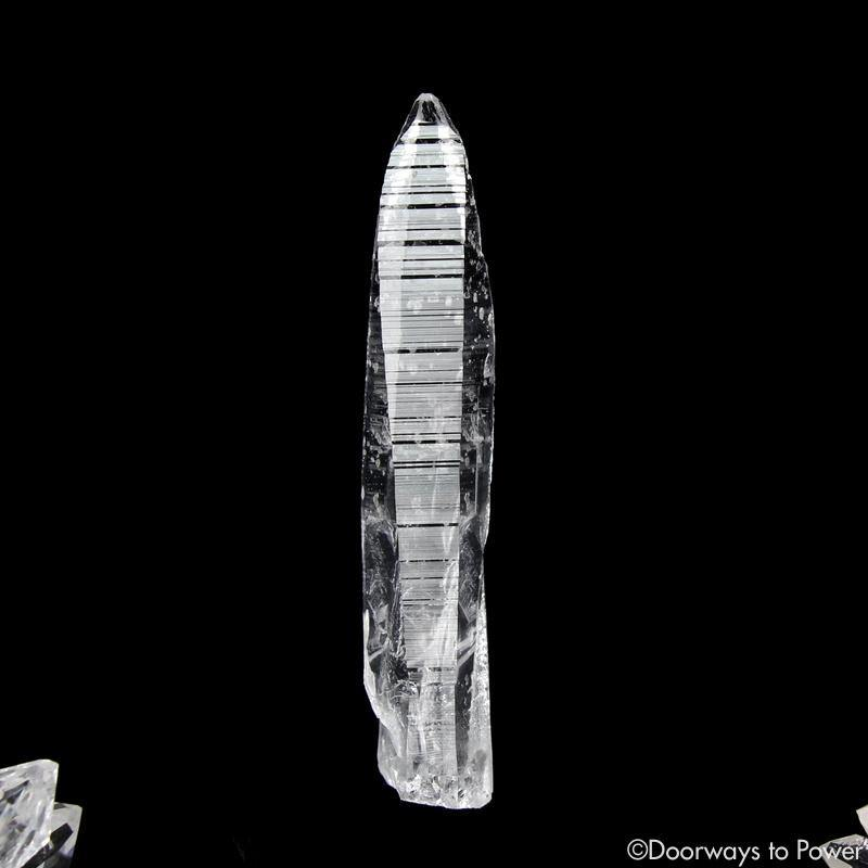 Colombian Lemurian Light Quartz Crystal Record Keeper Laser Wand