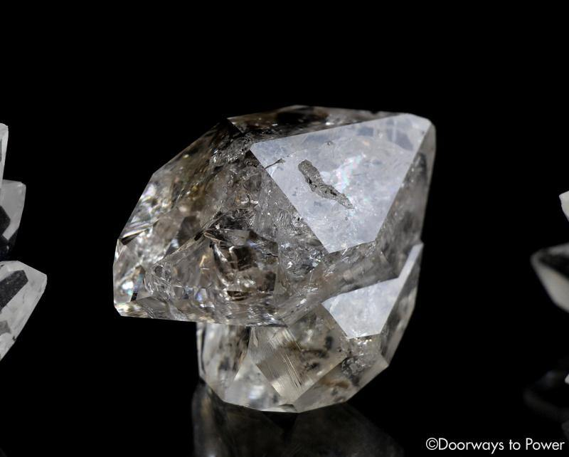 Herkimer Diamond DT Record Keeper Twin Crystal