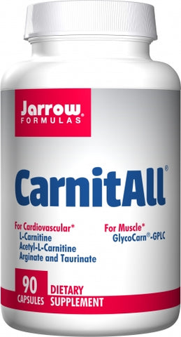 Jarrow CarnitAll 90 caps Full Spectrum Carnitine Complex
