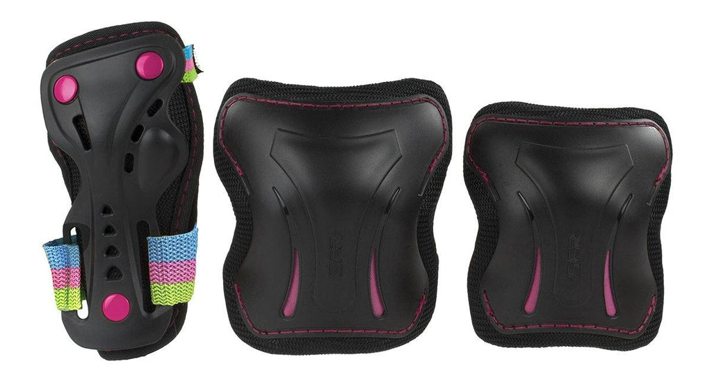 SFR Essentials Disco Junior Triple Pad Protection Set