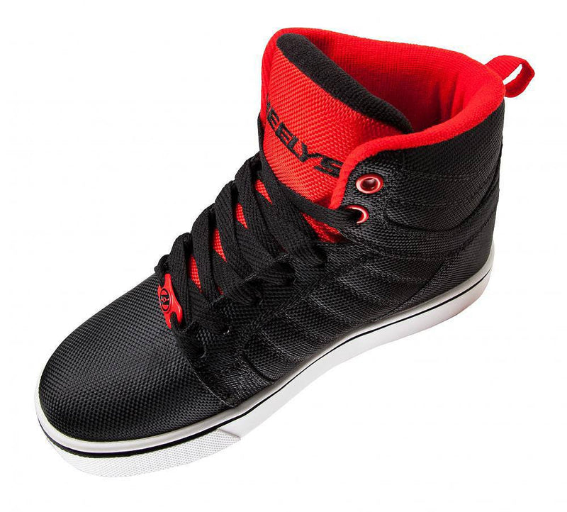Heelys Uptown black red ballistic roller shoes