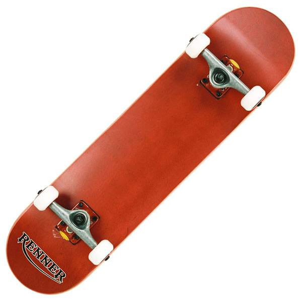 Renner Z Series Pro Red Complete Skateboard - Main View
