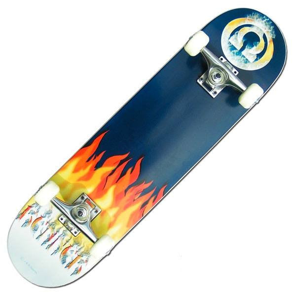 Renner B Series Smoke Complete Skateboard - Main View