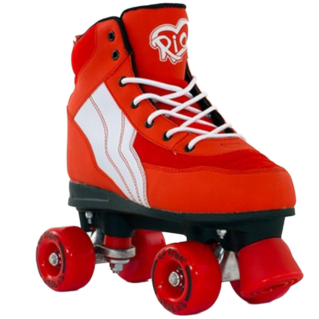 Rio Roller Pure Red-White Quad Roller Skates