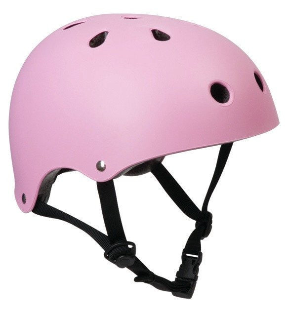 SFR Essentials Matt Pink Adjustable Skate Bike Helmet - Main View