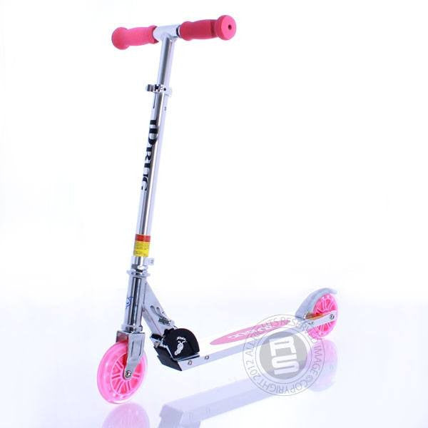 JD Bug Eco Pink Kids Beginner Push Scooter - Main View