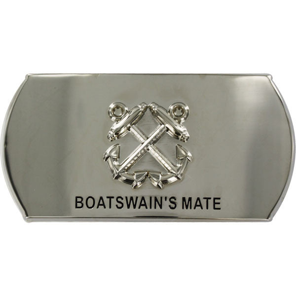 Navy Enlisted Specialty Belt Buckle: Boatswain's Mate: BM