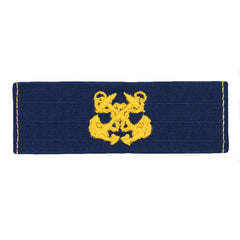 Coast Guard Embroidered Collar Device: Boatswain - Ripstop fabric