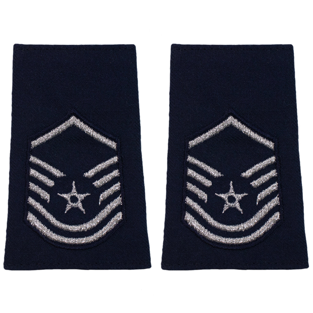 Air Force Epaulet: Master Sergeant: Enlisted - small