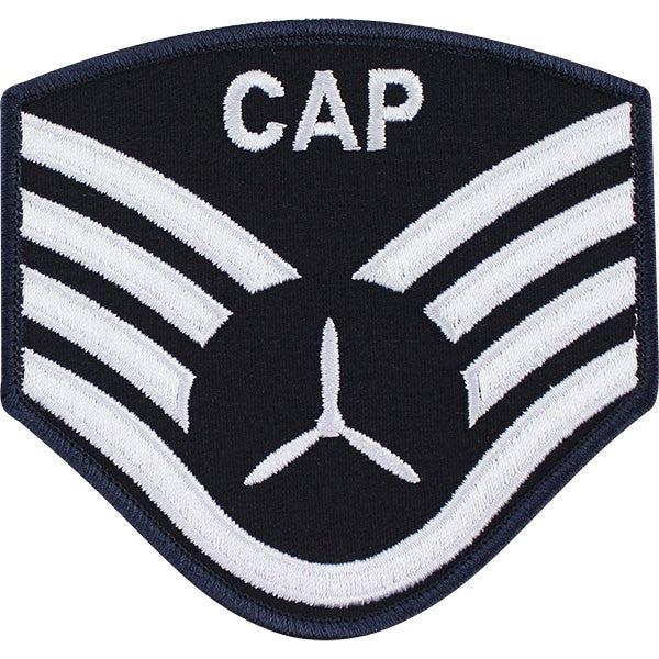 Civil Air Patrol: Senior Member NCO SSGT Embr Chevrons large