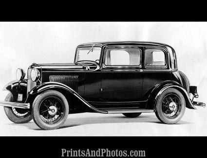 1932 Ford N8 De Luxe Sedan  3436 - Prints and Photos