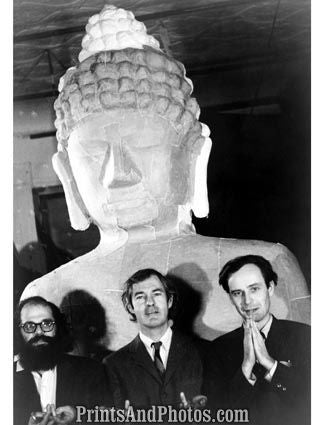 60s Timothy Leary & Ginsberg  5361
