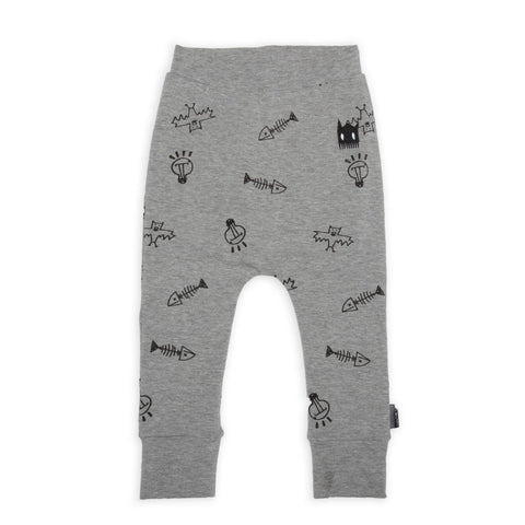 Band of Boys Organic Baby Leggings Stuff Marle Grey