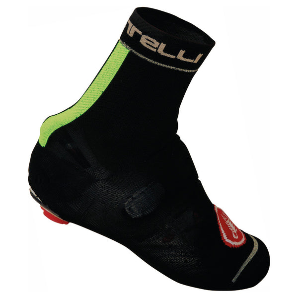 Castelli Belgian Bootie Shoe Cover - Black/Fluro Yellow