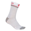 Castelli Womens Atelier Merino Socks - White / Red