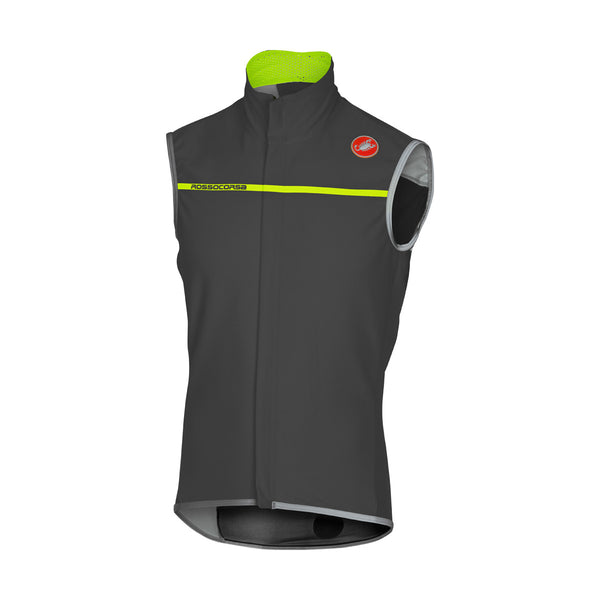 Castelli Mens Perfetto Cycling Vest - Anthracite
