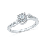 Allure Florette Diamond Ring - Radiant Bay