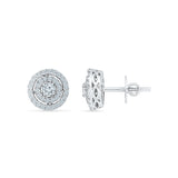 Beatific Diamond Stud Earrings - Radiant Bay
