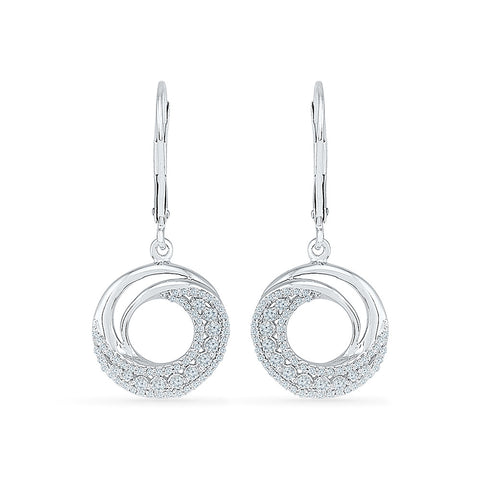 Breezy Diamond Drop Earrings - Radiant Bay