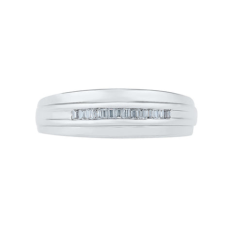 Classic Shimmer Diamond Ring For Men