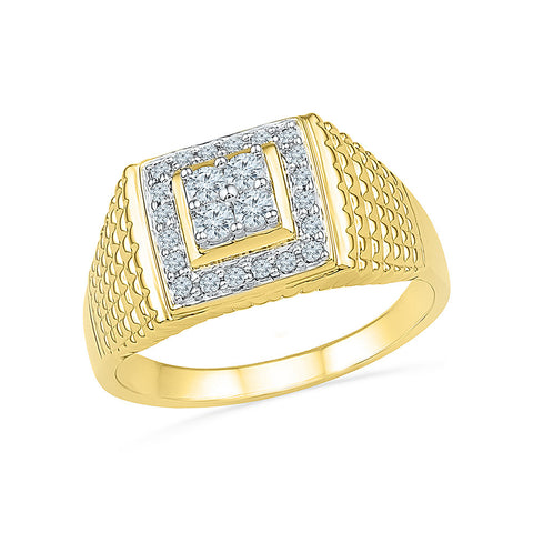 14kt / 18kt white and yellow gold Royal Heritage Diamond Ring in Prong and Nick setting online for women