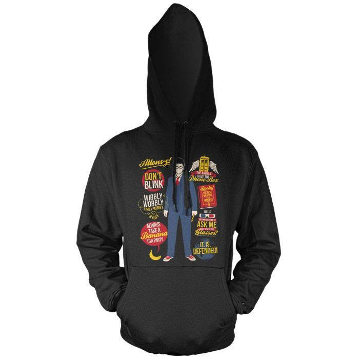 10th Doctor Quotes - Pullover Hoodie