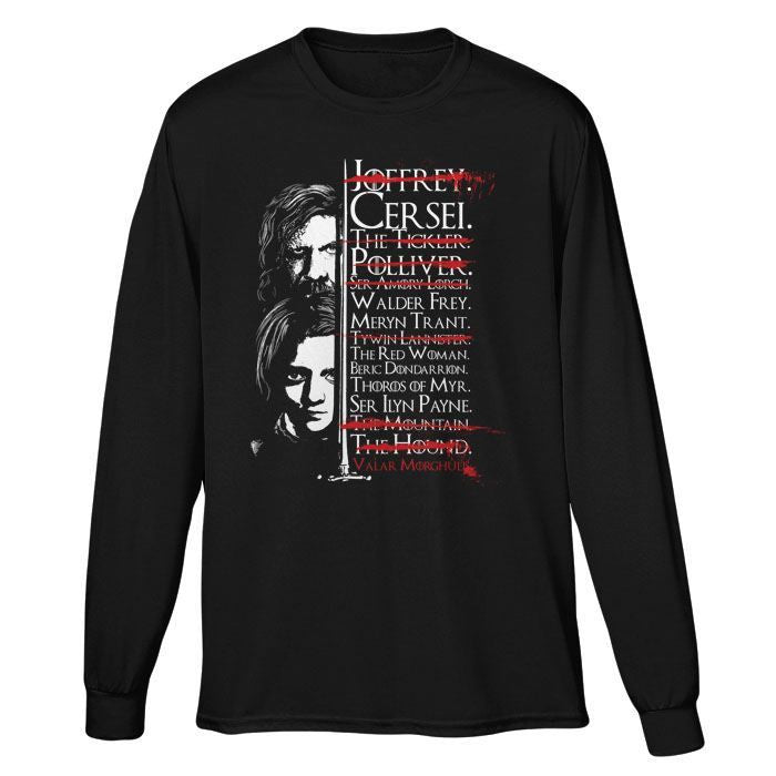 Arya's Prayer - Long Sleeve T-Shirt (Unisex)