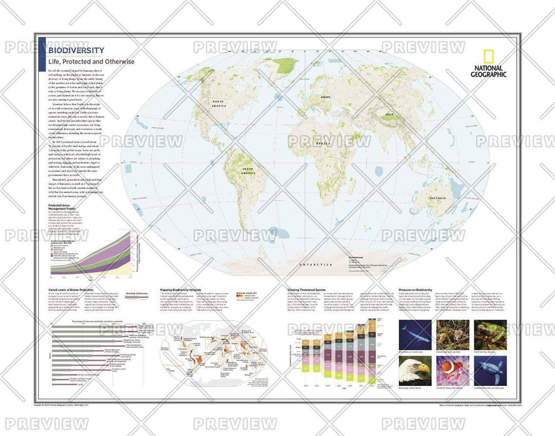 Biodiversity: Life, Protected and Otherwise - Atlas of the World, 10th Edition