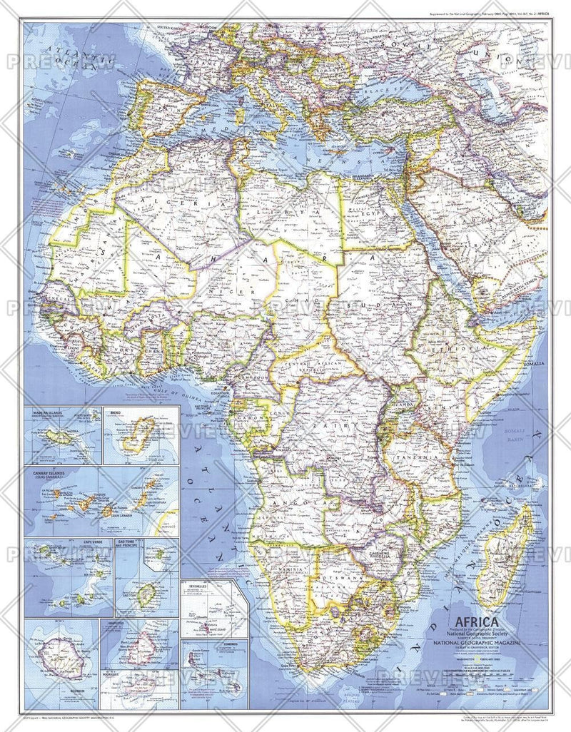 Africa  -  Published 1980