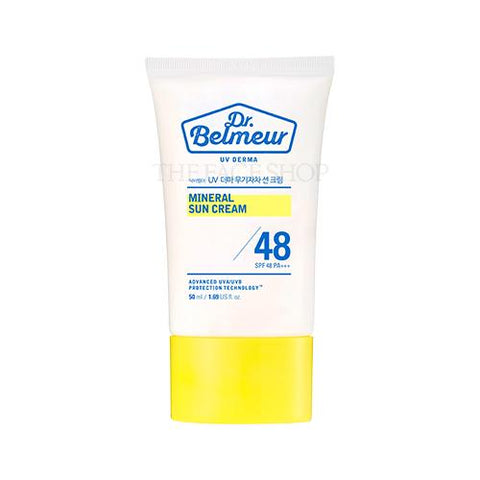 [The Face Shop] Dr.Belmeur Derma Mineral Sun Cream SPF48 PA+++ 50ml