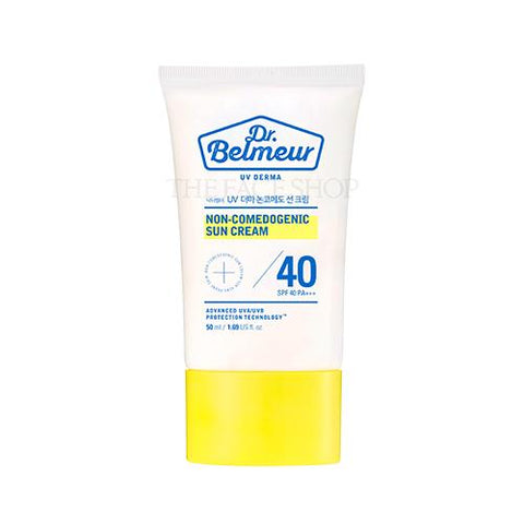 [The Face Shop] Dr.Belmeur Derma Non-Comedogenic Sun Cream SPF40 PA+++ 50ml