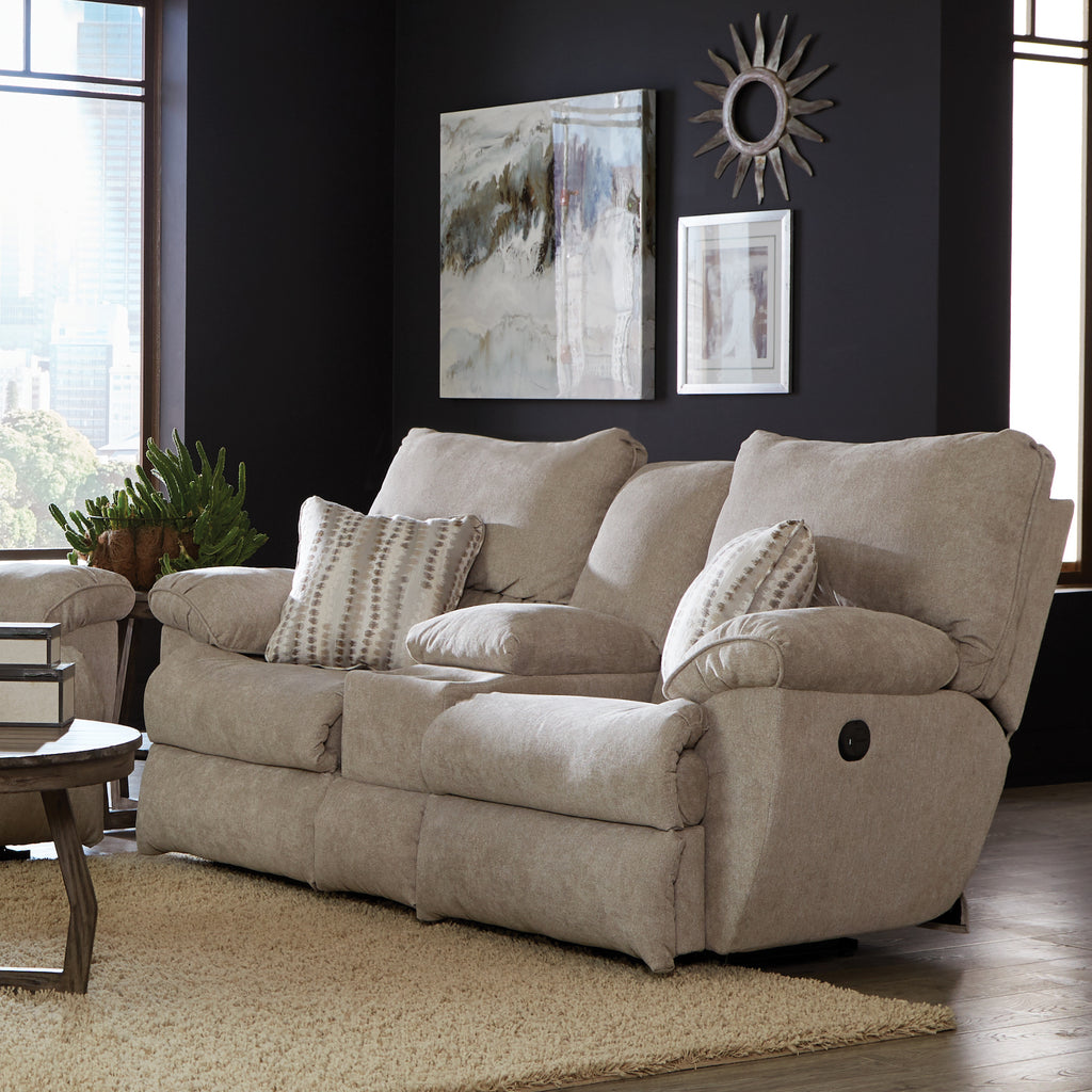 Sadler Reclining Console Loveseat by Jackson Furniture
