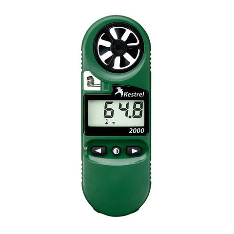 Kestrel 2000 Thermo Wind Meter (Anemometer) #0820GREEN - Australian Tactical Precision