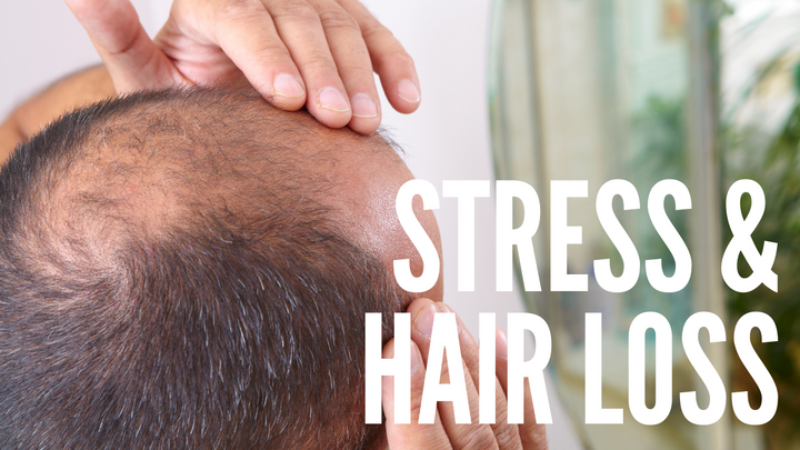 How Stress Causes Hair Loss & What to Do