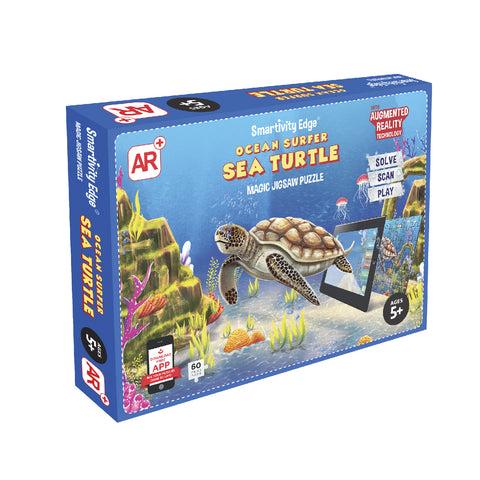 Smartivity Ocean Surfer Sea Turtle Augmented Reality Puzzle