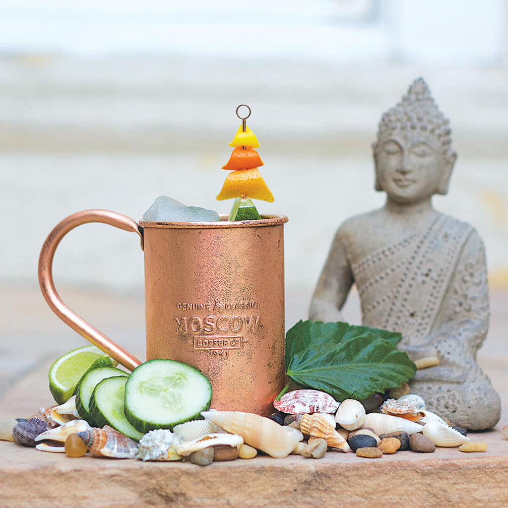 Moscow Copper Co. mugs are the perfect vessel to showcase any take on the Moscow Mule.