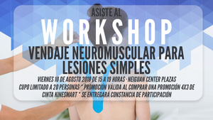 WORKSHOP - VENDAJE NEUROMUSCULAR PARA LESIONES SIMPLES