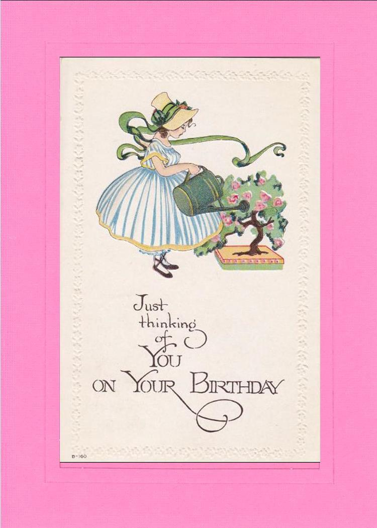 Birthday Thinking of You - PLYMOUTH CARD COMPANY