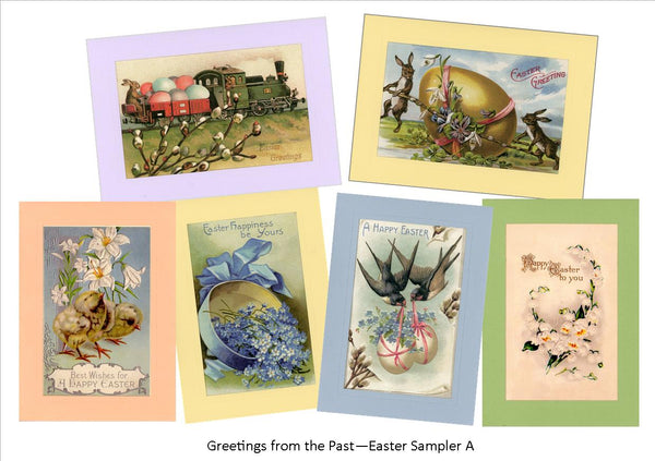 "Easter ""Greetings from the Past"" Sampler A"